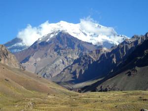Montanha Aconcágua na Argentina